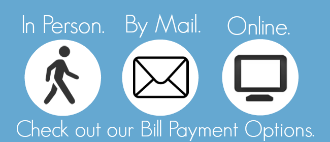 Pay Your Bill Online!